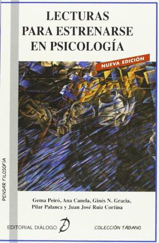 9788495333933: Lecturas para estrenarse en Psicología (Colección Tábano) - 9788495333933