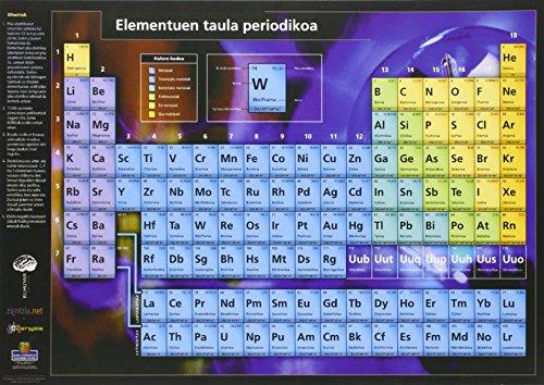 9788495338631: Elementuen Taula Periodikoa (a4)