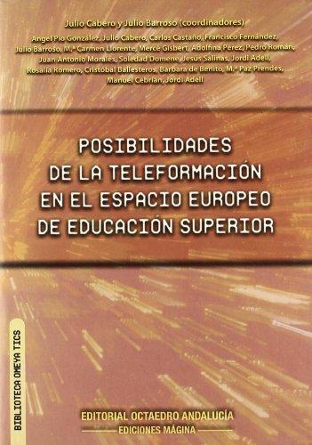 9788495345318: Posibilidades de la teleformación en el espacio Europeo de educación superior