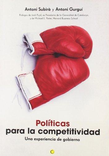 9788495348371: Políticas para la competitividad (Economía)
