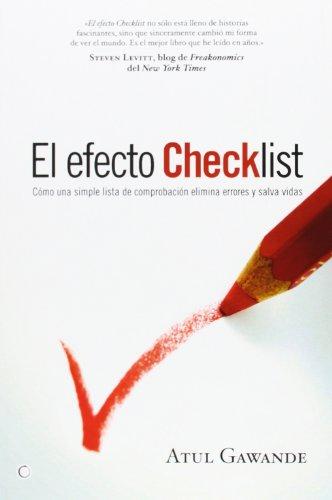 El efecto checklist (849534856X) by Atul Gawande
