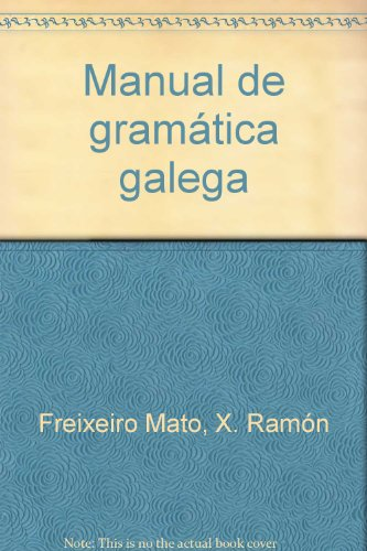 9788495350244: Manual de gramatica gallega