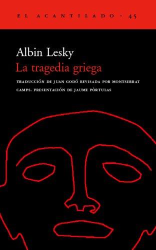 9788495359193: La tragedia griega (El Acantilado)