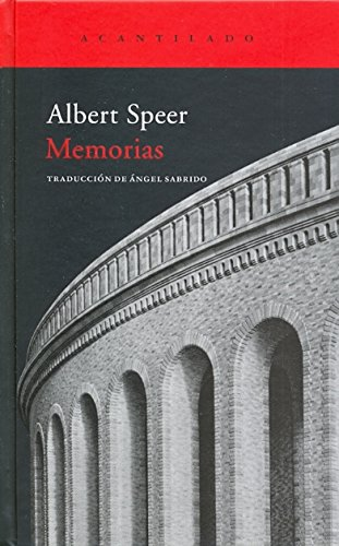 MEMORIAS: Albert Speer