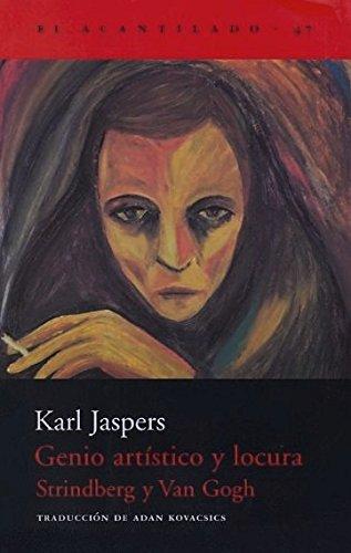 9788495359766: Genio Artistico y Locura Strindberg y Van Gogh (Spanish Edition)