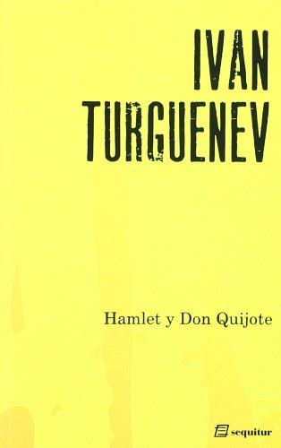 9788495363428: Hamlet y don Quijote
