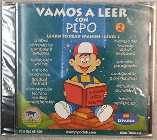 9788495370068: Vamos A Leer Con Pipo 2