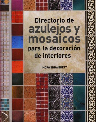 9788495376879: Directorio de azulejos y mosaicos