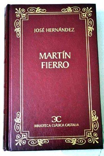 9788495377029: Martin Fierro