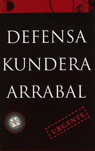 9788495399953: Defensa - kundera / arrabal (Biblioteca Golpe De Dados)