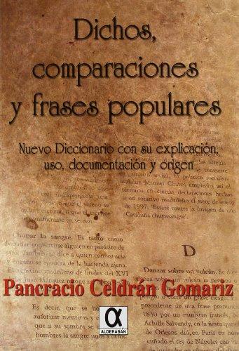 9788495414694 Dichos Comparaciones Y Frases Populares Abebooks