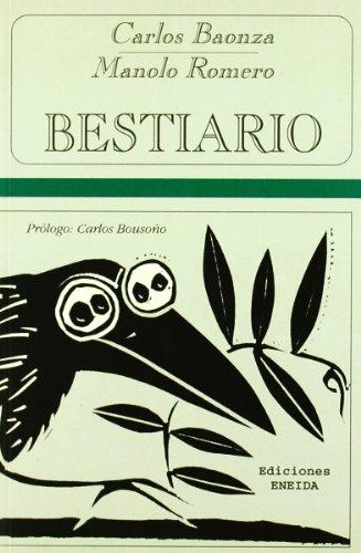 9788495427649: Bestiario Baonza / Romero (Bestiarios)