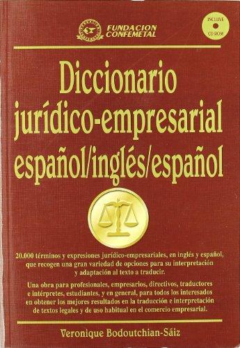 9788495428035: Diccionario Juridico Empresarial Espanol (Spanish Edition)