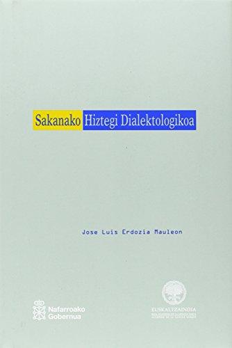 9788495438171: Sakanako hiztegi dialektologikoa