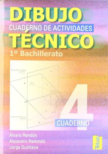 9788495447661: Cuadernos de dibujo técnico 4 (1º Bachillerato) - 9788495447661