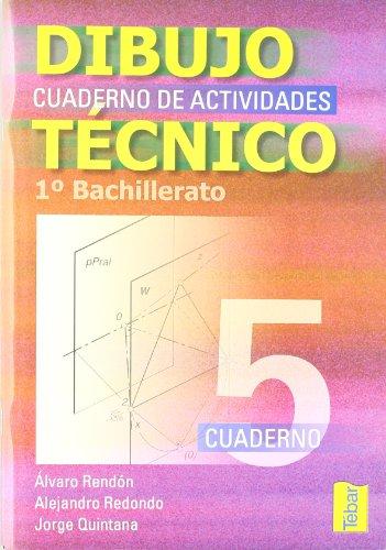 9788495447678: Cuadernos de dibujo técnico 5 (1º Bachillerato) - 9788495447678