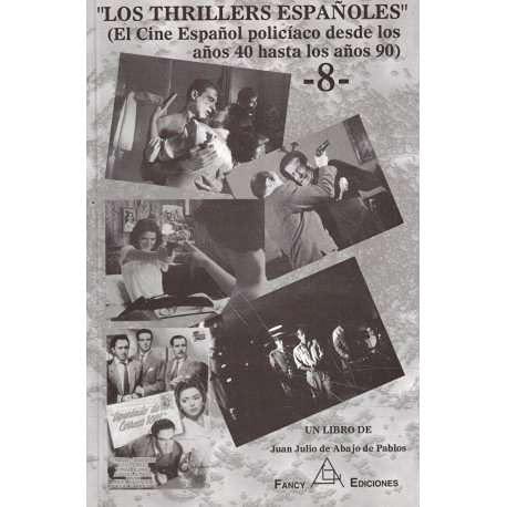 9788495455178: THRILLERS ESPA¥OLES(TOMO VIII).CINE ESPA¥OL POLICIACO DESDE