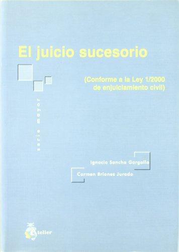 9788495458551: JUICIO SUCESORIO CONFORME A LA LEY