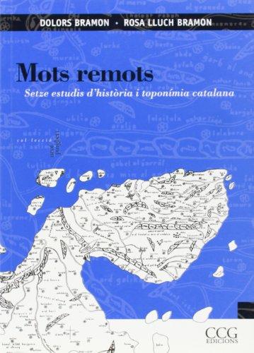 9788495483249: Mots remots (Col..leccio Joan Puigbert)