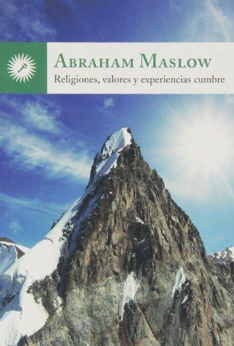 9788495496973: Religiones, Valores Y Experiencias Cumbre (Psicologia (la Llave))