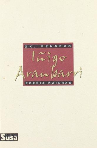 Iñigo Aranbarri - Xx.Mendeko Poesia Kaierak