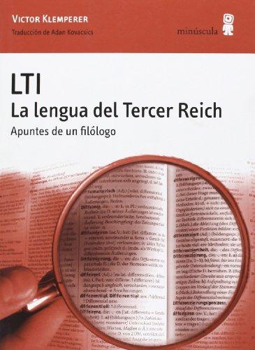 9788495587077: LTI. La lengua del Tercer Reich: Apuntes de un filólogo (Alexanderplatz)