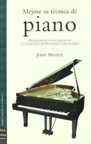 9788495601322: Mejore su technica de piano/ Better Your Piano Technique (Spanish Edition)