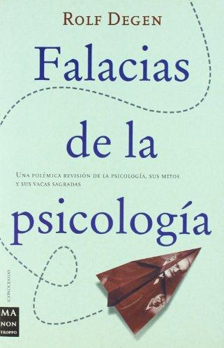 9788495601339: Falacias de la psicologia (Iconoclasias)