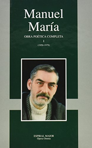 9788495625243: OBRA POETICA COMPLETA.(TOMO I) (MANUEL MARIA)
