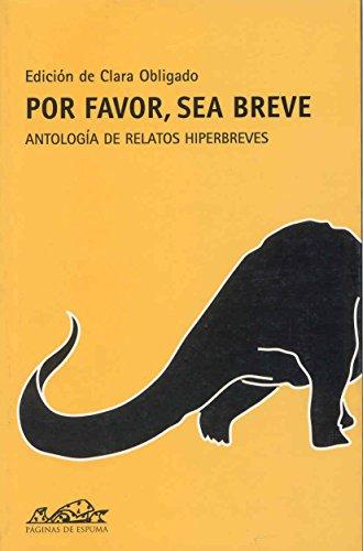 9788495642042: Por favor, sea breve: Antología de relatos hiperbreves (Voces/ Literatura)