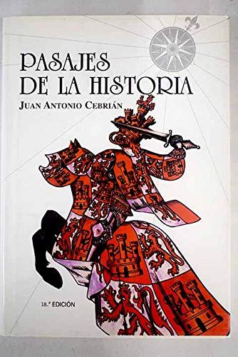 9788495645036: Pasajes de la historia (Spanish Edition)