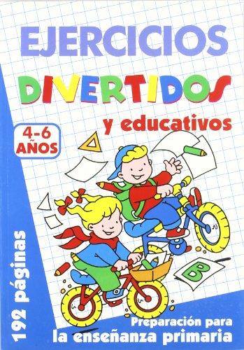 9788495677303: Ejercicios Divertidos. 4-6 Años (Color Azul)