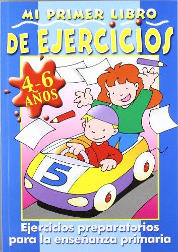 MI PRIMER LIBRO DE EJERCICIOS, 4-6 AÑOS.: AAVV. GARCÍA FUNGAIRIÑO,