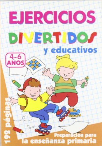 9788495677730: Ejercicios Divertidos. 4-6 Años (Color Naranja)