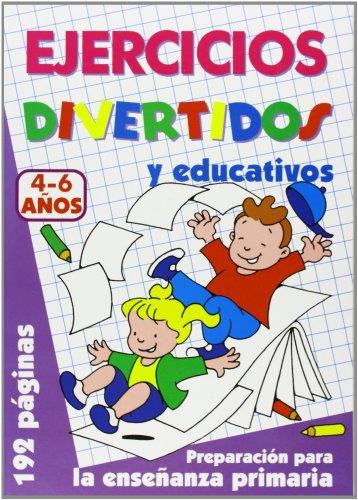 9788495677747: Ejercicios Divertidos. 4-6 Años (Color Lila)