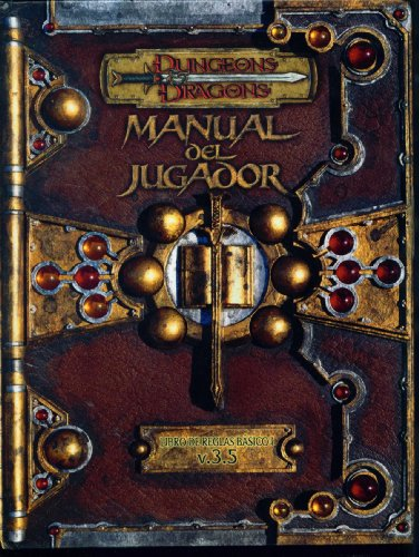 9788495712967: Dungeons & Dragons Manual Del Jugador V.3.5 D20