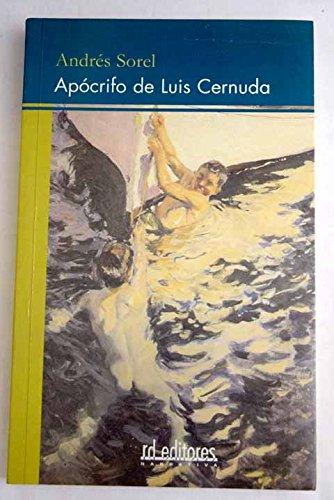 9788495724519: Apócrifo de Luis Cernuda
