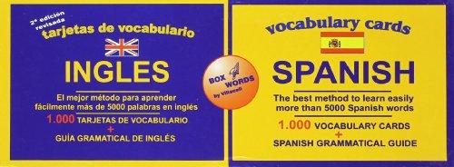 9788495734006: Tarjetas De Vocabulario Inglés-Español - Edición Bilingüe