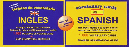 9788495734006: Vocabulary Cards: Spanish/Ingles