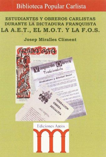 9788495735331: ESTUDIANTES Y OBREROS CARLISTAS