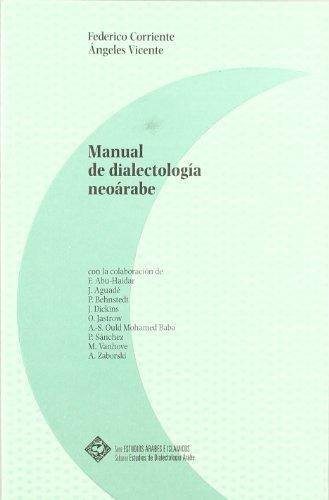 9788495736079: Manual de dialectologia neoarabe