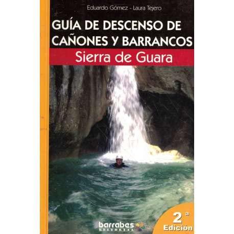 9788495744210: guia de descenso de canones y barrancos Sierra de guara