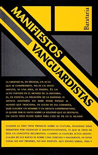 MANIFIESTOS VANGUARDISTAS: VV. AA