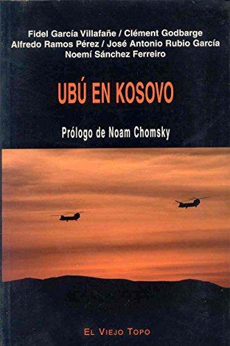 9788495776310: Ubú en Kosovo (Ensayo)