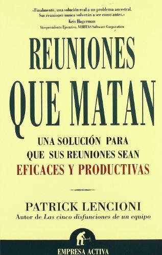 9788495787620: Reuniones que Matan (Spanish Edition)
