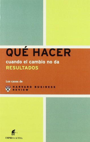 Que Hacer Cuando El Cambio No Da Resultados / Management Dilemmas. When Change Comes Undone &#...
