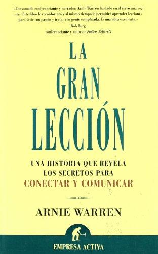 9788495787958: La Gran Leccion (Spanish Edition)