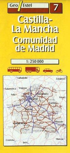 9788495788153: castilla, la mancha, communidad de madrid 7 1/250.000