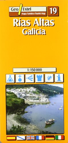 Rias Altas. Galicia Esc. 1:150,000: Mapas