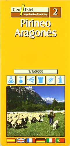 9788495788627: Aragon Tourist Map 1:150, 000 (Tourist Maps)